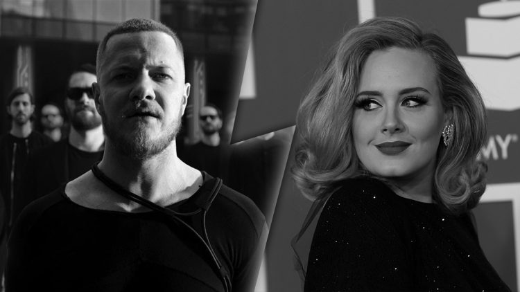 imagine dragons vs adele